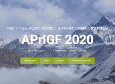 Nepal will host Asia Pacific Regional Internet Governance Forum (APrIGF) 2020 in Kathmandu