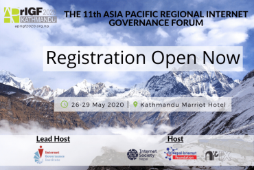 APrIGF 2020 Registration Is Now Open